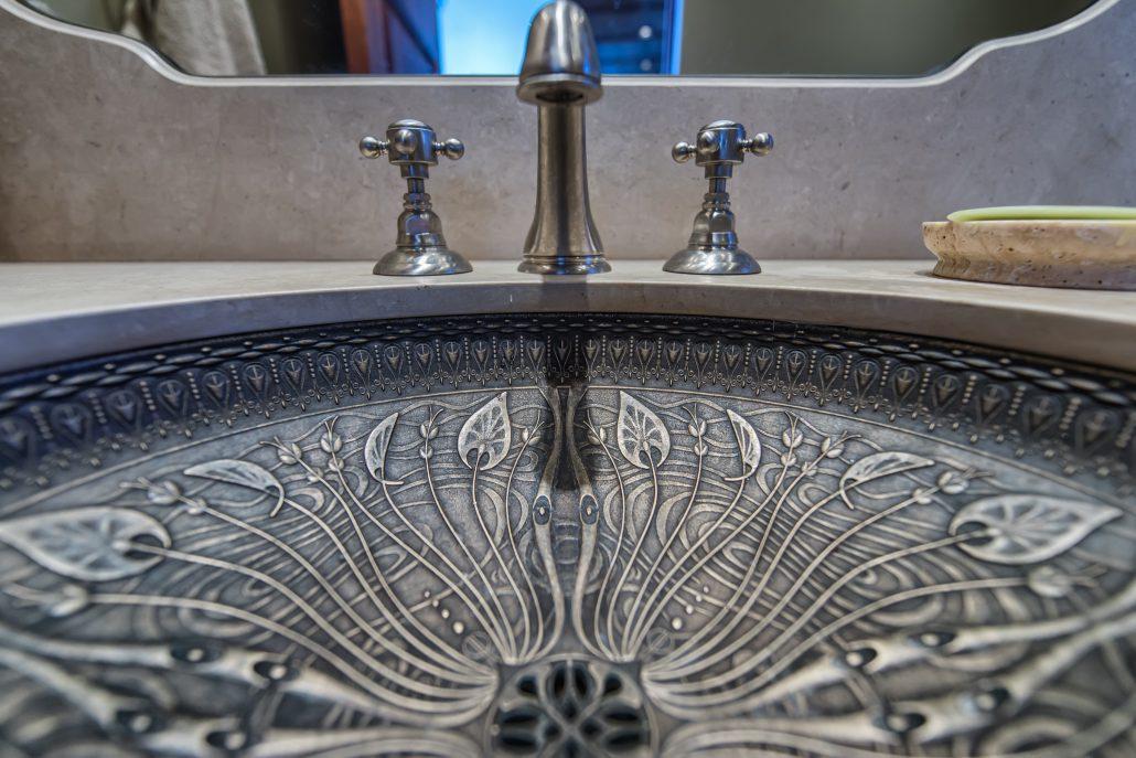 Foyer Powder Room Sink