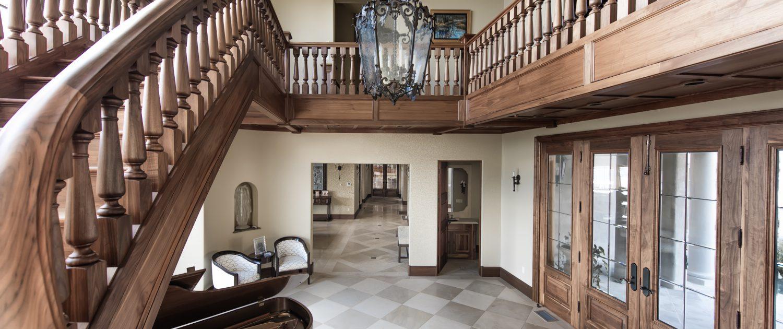 Foyer - Grand Stairway