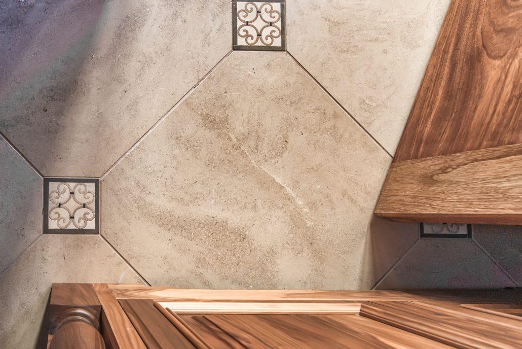 Foyer Bathroom Tile
