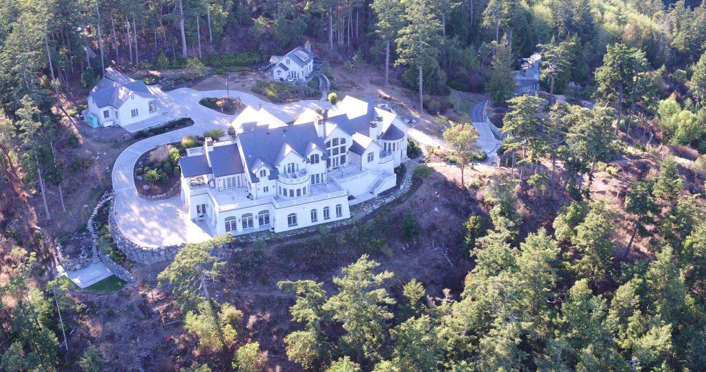 Aerial - Eagle's Nest Estate