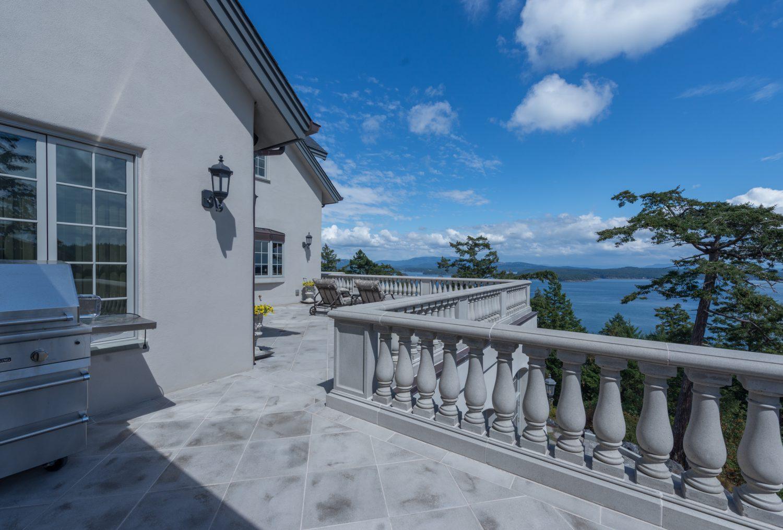 South Porch Terrace - Eagle's Nest Estate
