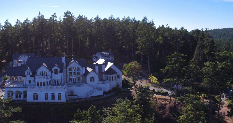 Aerial View & Landscape - Eagle's Nest Estate